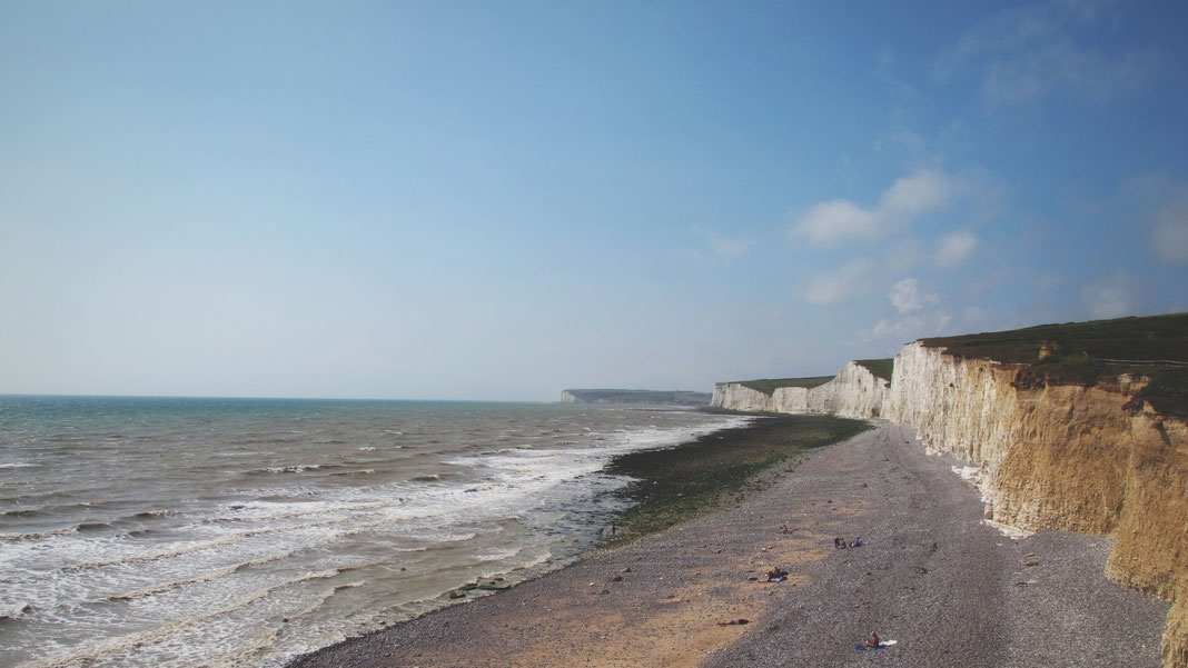 bigousteppes angleterre seven sisters falaise mer plage