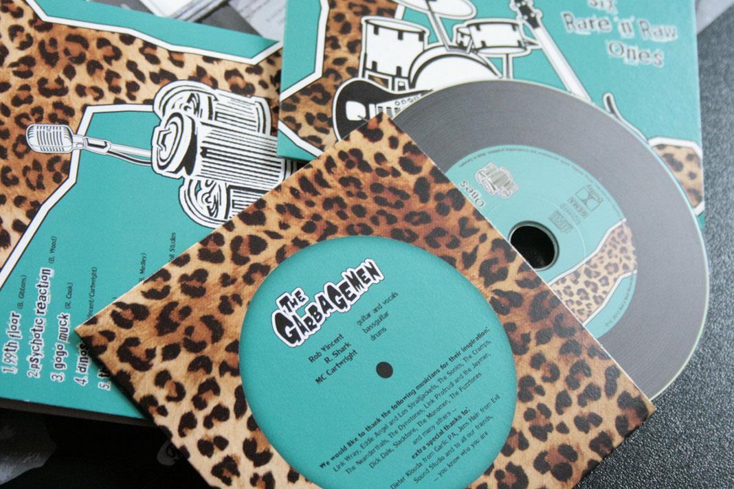 The Garbagemen, Cover Artwork, 60s, Garage Rock, Band