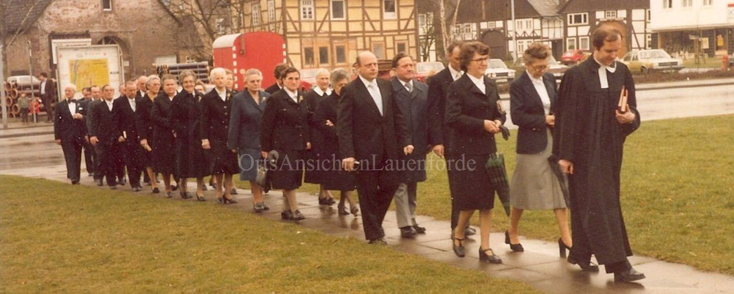 Goldene Konfirmation 1980