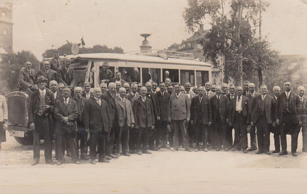 Betriebsausflug nach München 1931