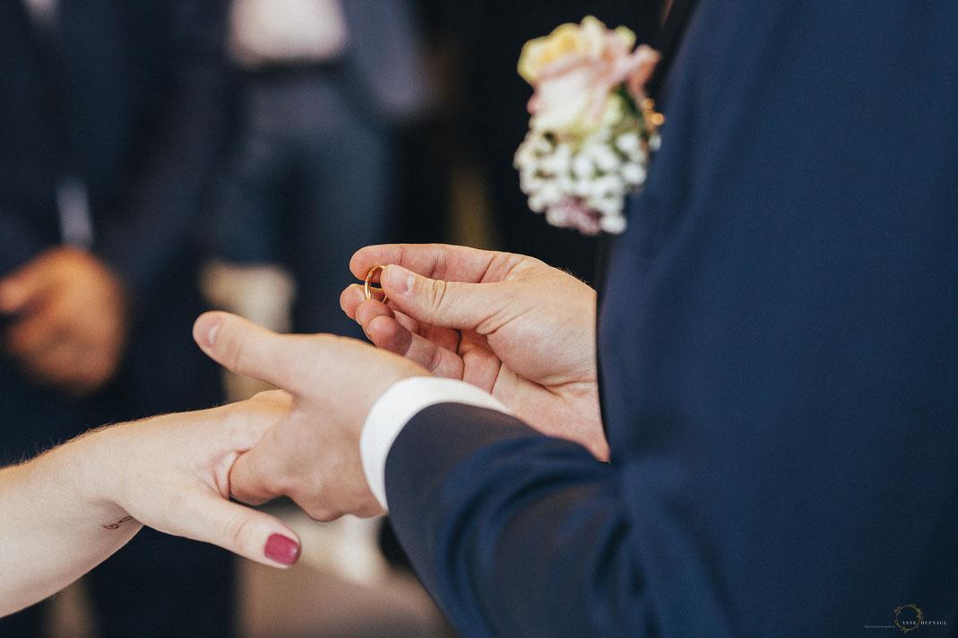 Foto Ringtausch / Hochzeitsfotograf Bremen Anne Hufnagl