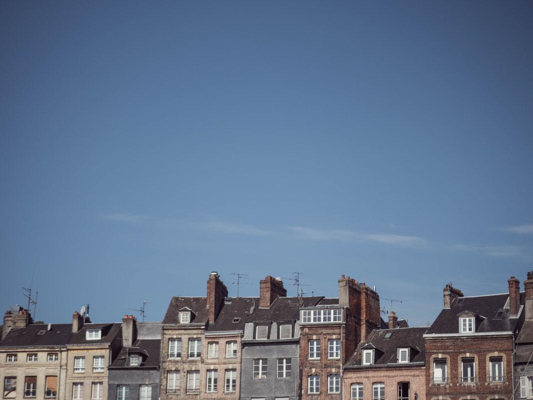 ciel bleu Honfleur
