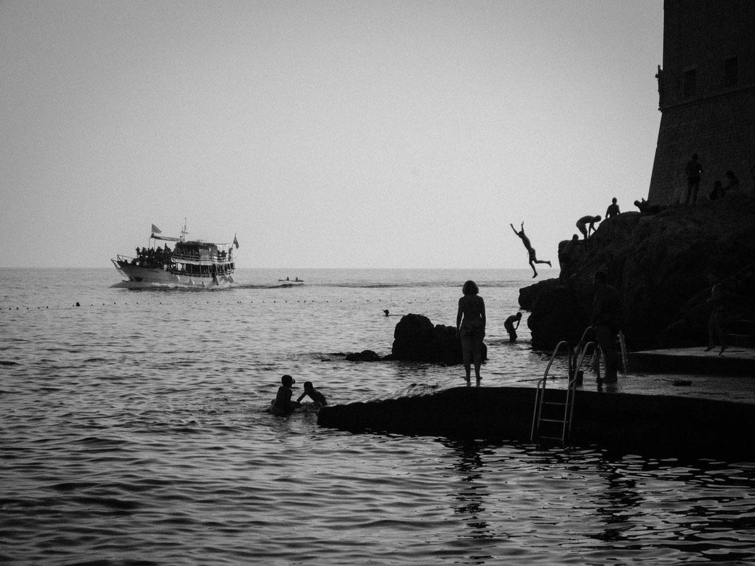 Se baigner à Dubrovnik