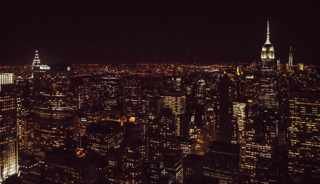 New-York by night