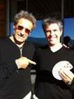 """Cinéma avec Gerard LANVIN sur le tournage de """"Pension Complète"""" où je doubles ses mains sur des manipulations de cartes. e"""