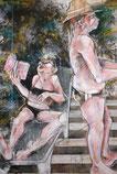 """""""Passion, bof"""" 80/60cm, 2011"""