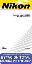 manual de usuario fichas tecnicas y programas para estaciones totales nikon