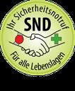 In Zusammenarbeit  mit SND-Sicherheitsnotruf Deutschland