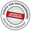 Schutz vor Haftungsrisiken - Prüfsiegel vom Deutsches Ehrenamt e.V.