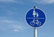 """Gehwege und Radwege, auch """"gemeinsam"""" ist möglich"""