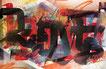 faben, street artsite nicois, street art, cote d'azur, street art carrefour,tag nice