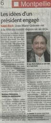 Jean Marie Quiesse-Midi Libre - 08 01 2014