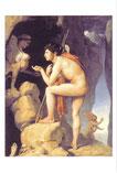 スフィンクスの謎を解くオイディプス