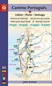 Camino Portugués Maps Lisbon - Porto - Santiago Camino Central, Camino de la Costa, Variente Espiritual & Senda Litoral (Camino Guides)