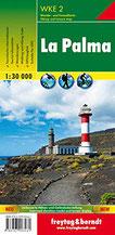 La Palma, Wanderkarte 1 30.000, WKE 2 Walking Map (freytag & berndt Wander-Rad-Freizeitkarten)