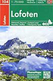 Lofoten (PhoneMaps Wander - Radkarte Norwegen)