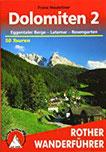 Dolomiten 2. Eggentaler Berge - Latemar - Rosengarten. 50 Touren. Mit GPS-Tracks (Rother Wanderführer)