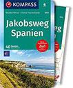 KOMPASS Wanderführer Jakobsweg Spanien Wanderführer mit Extra-Tourenkarte 1 110.000, 40 Etappen, GPX-Daten zum Download.
