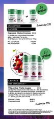 Capsules Cistus Incanus 2+1 gratuit Un soutien pour votre système immunitaire grâce à la vitamine C3 et au zinc  LR et AloeVeraSante.net