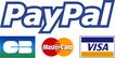 Paiement sécurisé PayPal et carte bancaire