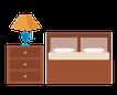 slaapkamer icoontje