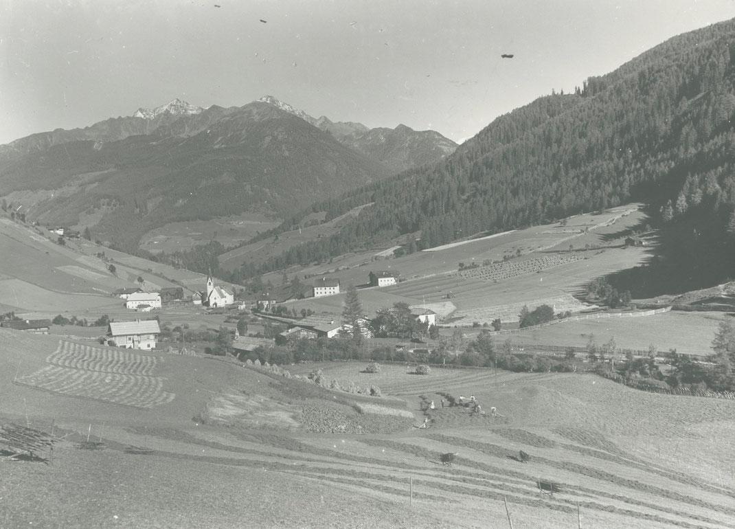 Weißenbach im Ahrntal / Südtirol um das Jahr 1940