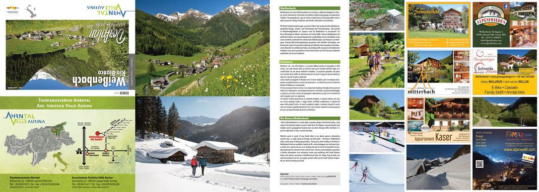 Dorfplan von Weißenbach ©Tourismusverein Ahrntal