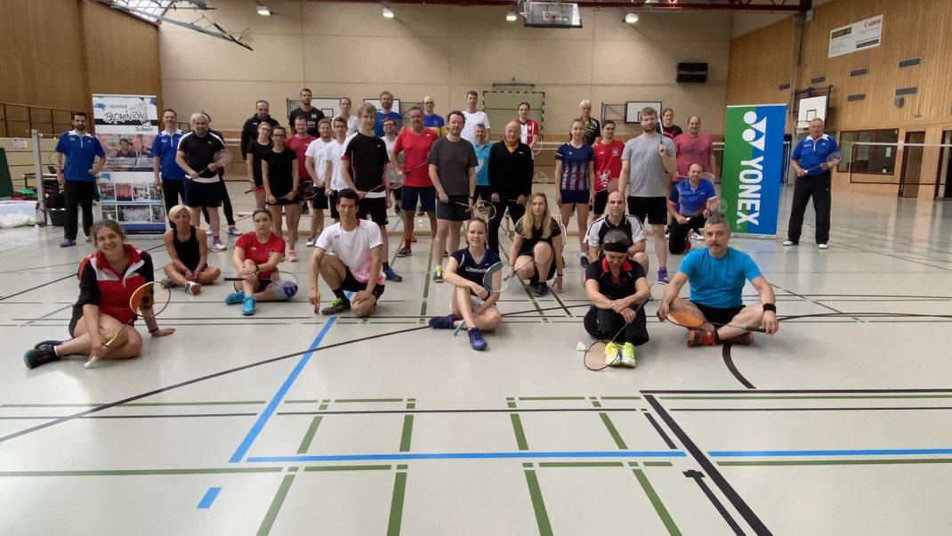 Badminton Camp 2020 mit Hans Werner Niesner und Trainerteam
