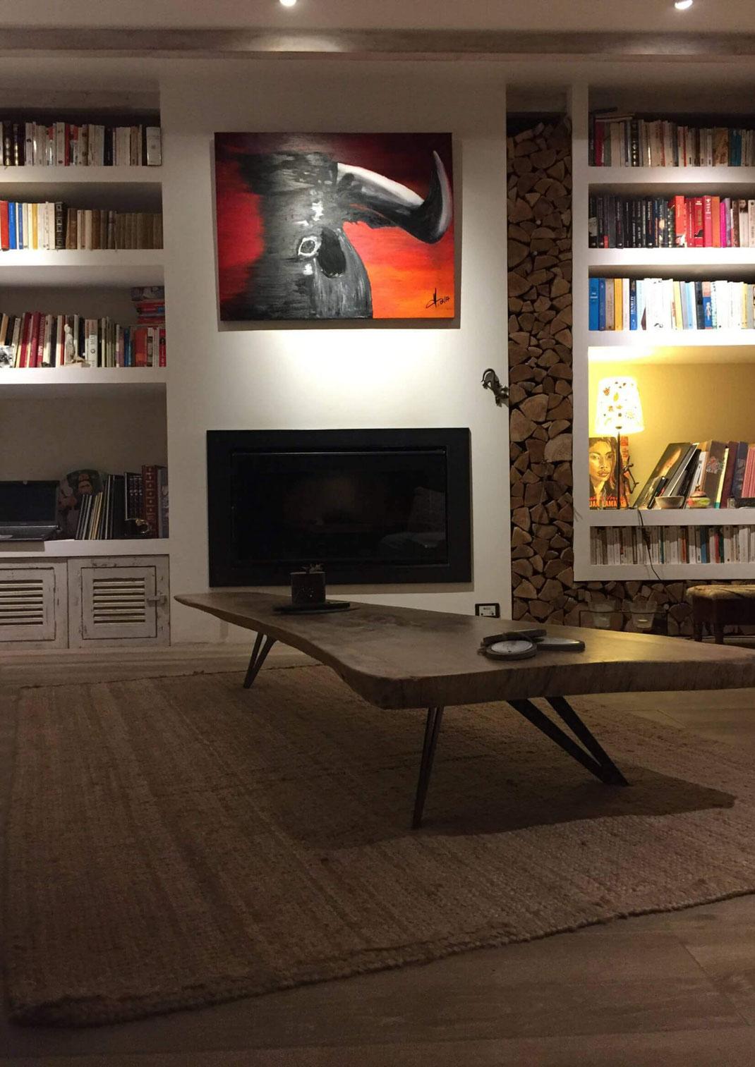 Pied de table design pour salon made in piedtable.fr