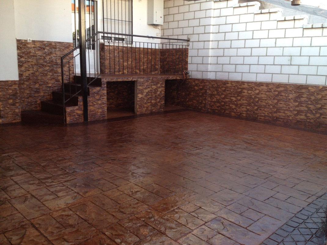 Precio hormigon impreso y pulido precios desde 7 euro el m2 for Suelo cemento impreso