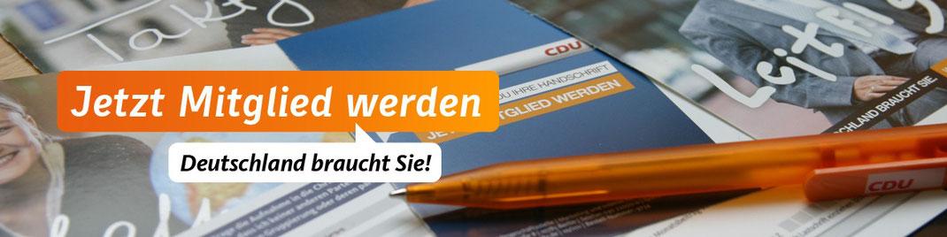 Jetzt CDU Mitglied werden