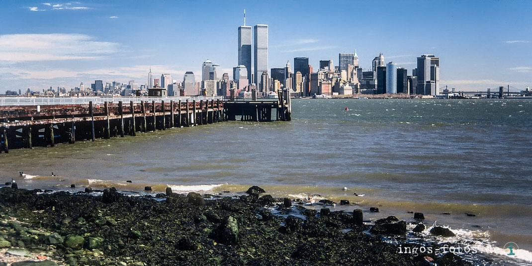ingos fotos, New York, Manhattan, Skyline, World Trade Centre, Liberty Island