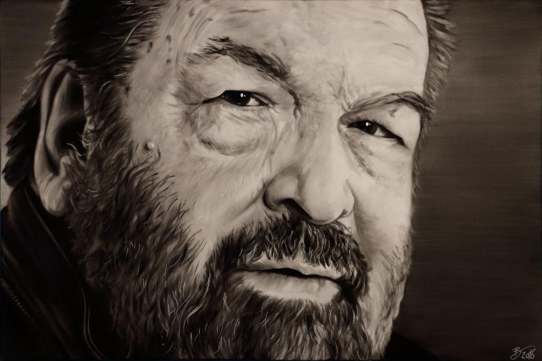 Portrait Leinwand Kunst Acryl Persönlichkeiten Gemälde
