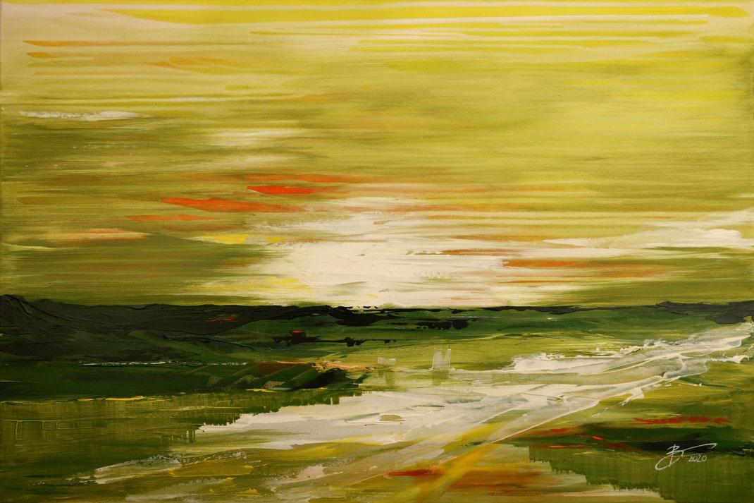 Abtstrakt Landschaft Farben Natur