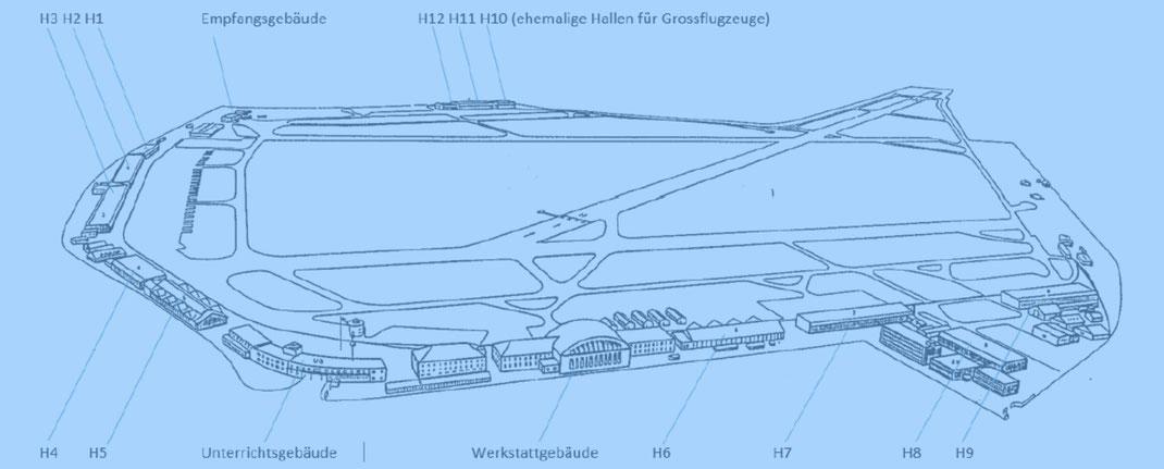Militärflugplatz Dübendorf: schutzwürdiges Ensemble (Weltkulturerbe), Gutachten Eidgenössische Kommission für Denkmalpflege EKD vom 3. März 2015 | Quelle: The 7 Most Endangered 2020, Europanostra