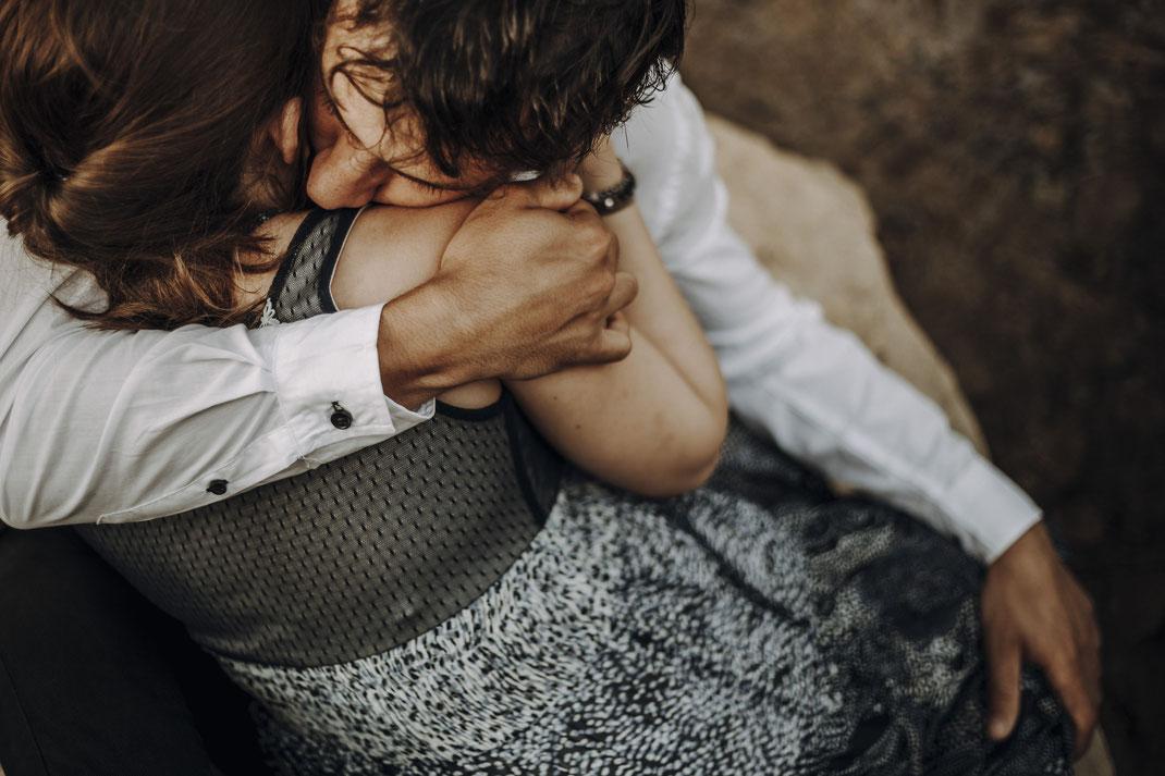 Thia photographe séance couple grossesse Aubagne