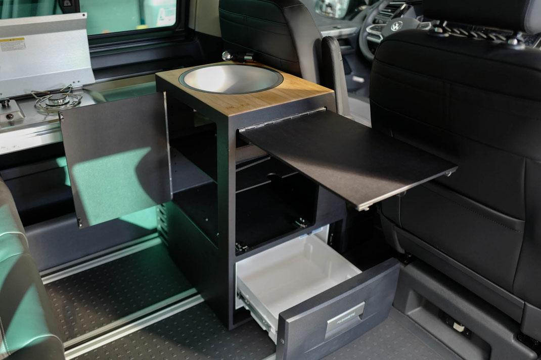 Innenraummodul für den VW T6.1 Camper