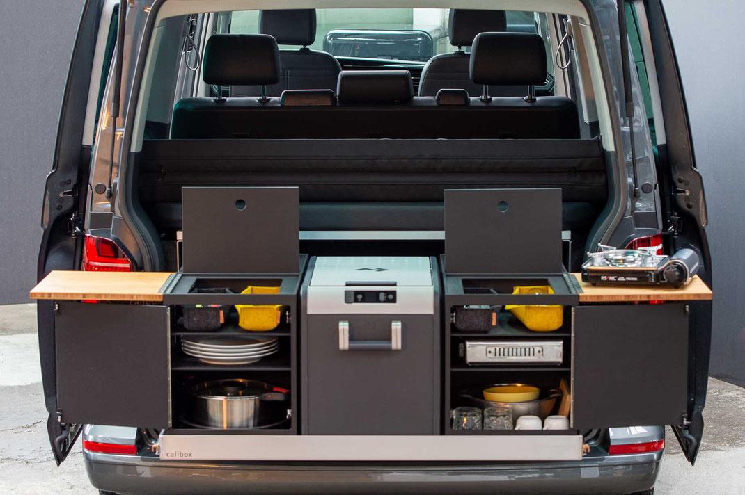 Heckküche mit Dometic CFX3 45