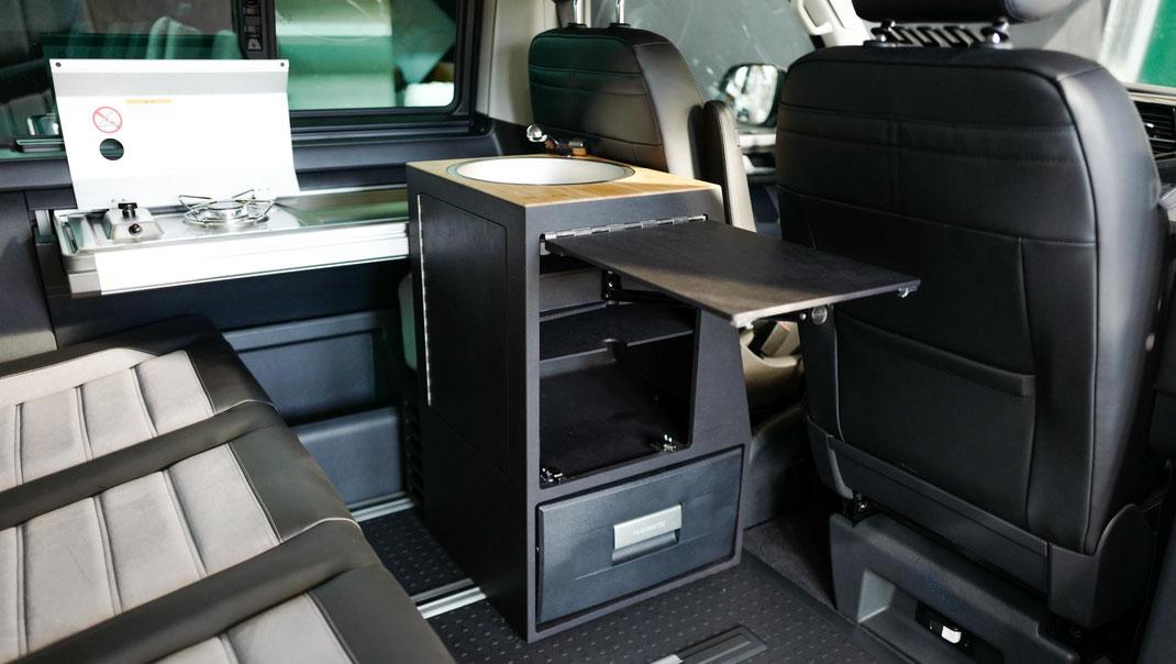 VW T6.1 Beach Camper mit Miniküche
