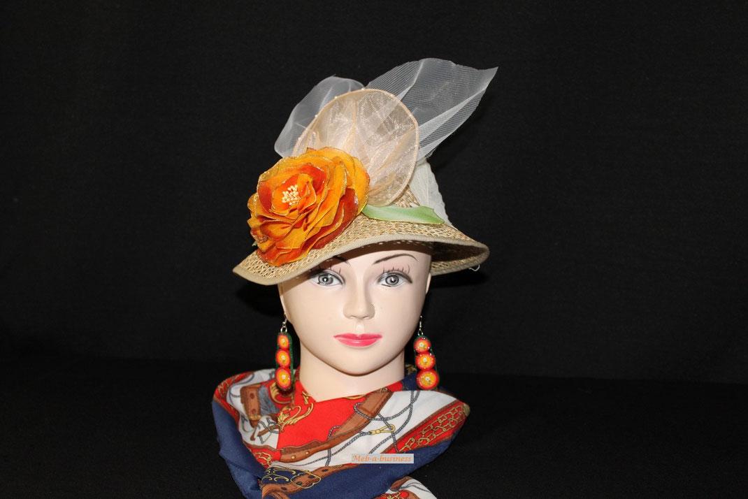 Chapeau Rose du Japon