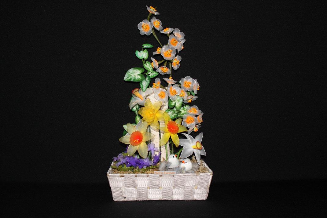 Violette,Narcisse,Jonquille,Fleur de pommier