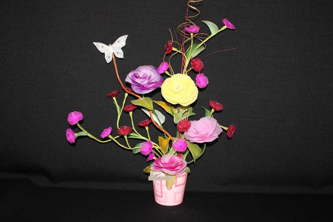 Rose japonaise,Coquelourde