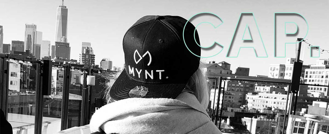 MYNT Golf Cap in Navy Blue New York Soho House