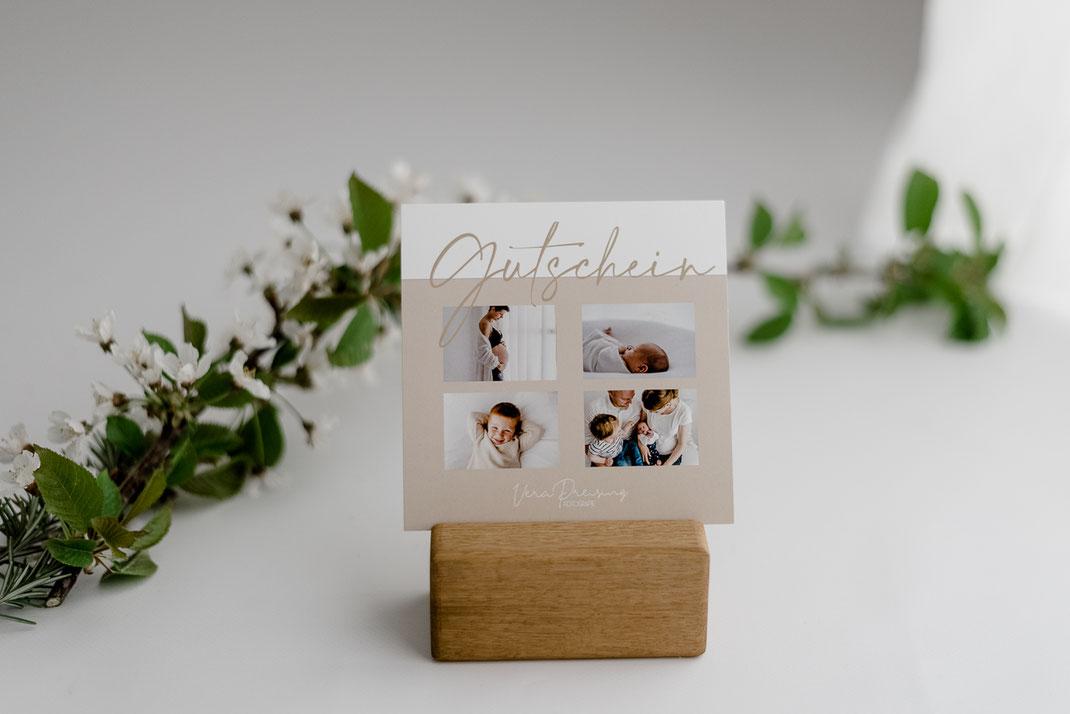 Gutschein, Geschenke, Vera Preising Fotografie