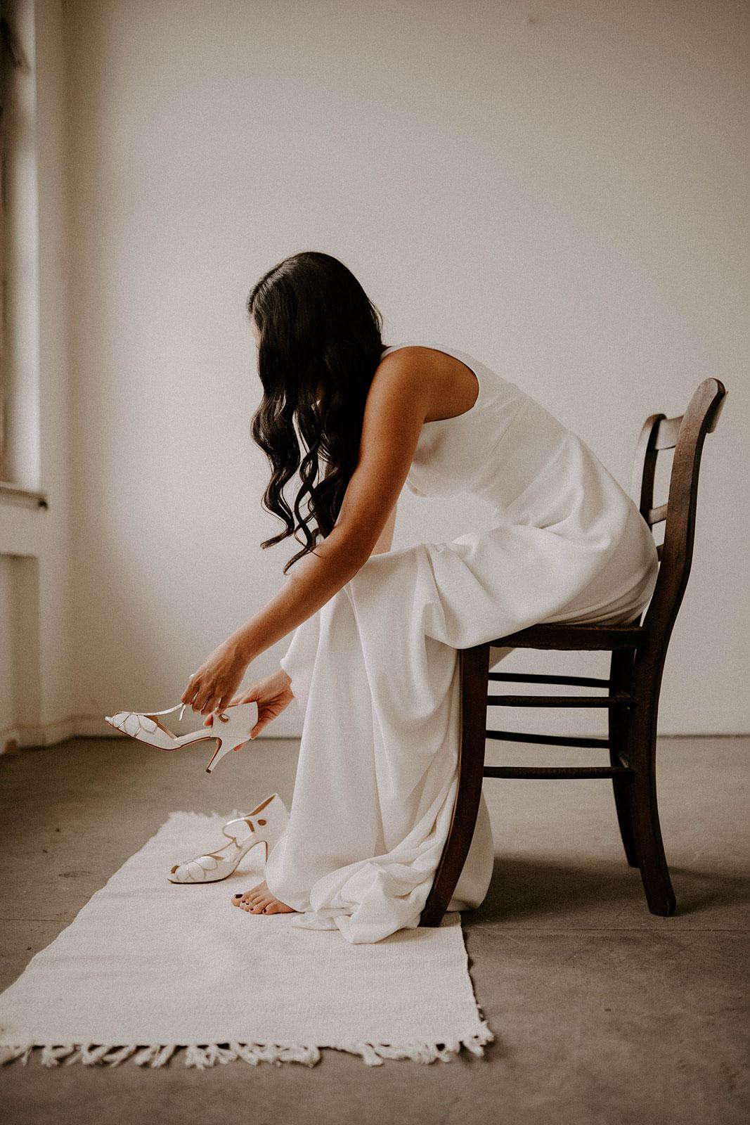 Hochzeitsplaner in der Pfalz, Brautstrauß aus Baumwolle