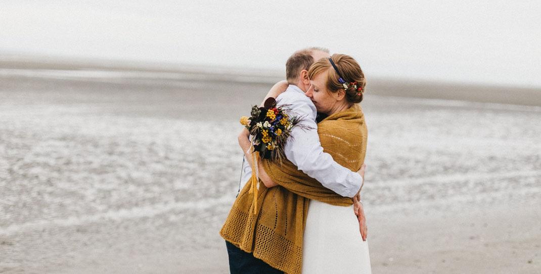 Freie Trauung Bretagne, Freie Trauung Strand, Freier Hochzeitsredner, Traumhochzeit