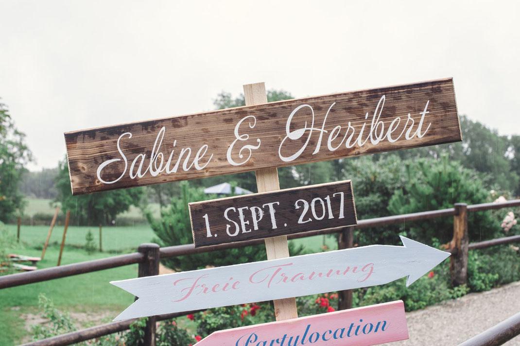 Freie Trauung, Hochzeit