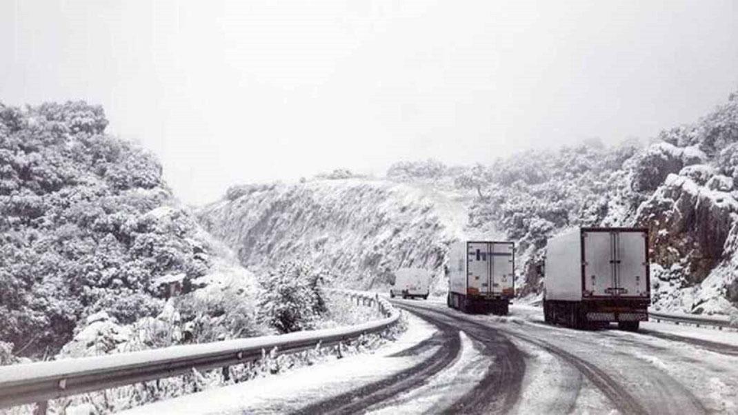 5 Consejos para conducir transporte terrestre en Invierno