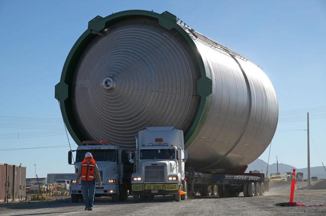 ¿Qué es Transporte de mercancías voluminosas?
