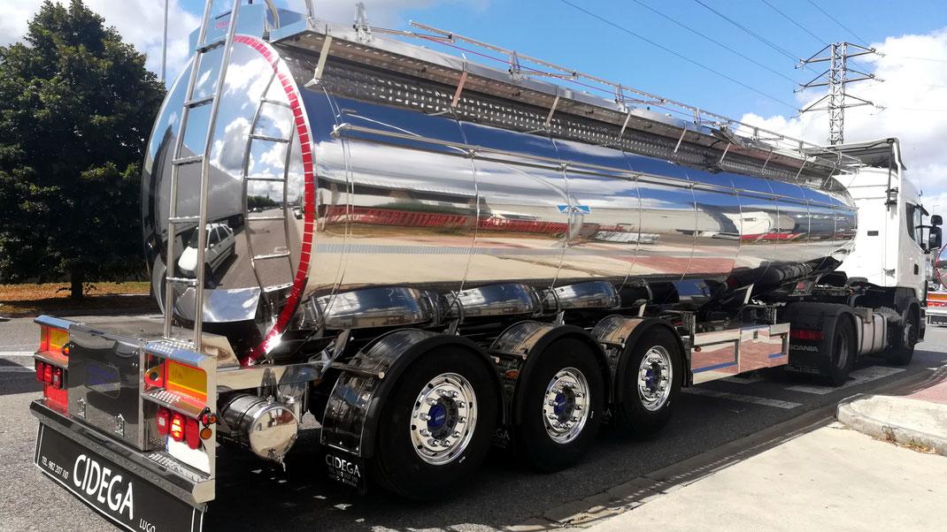 Consejos para el almacenamiento de leche en transporte cisterna